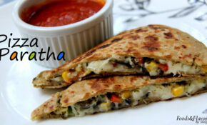 Pizza Paratha Recipe Indian Veg Brunch Breakfast Recipes And ..