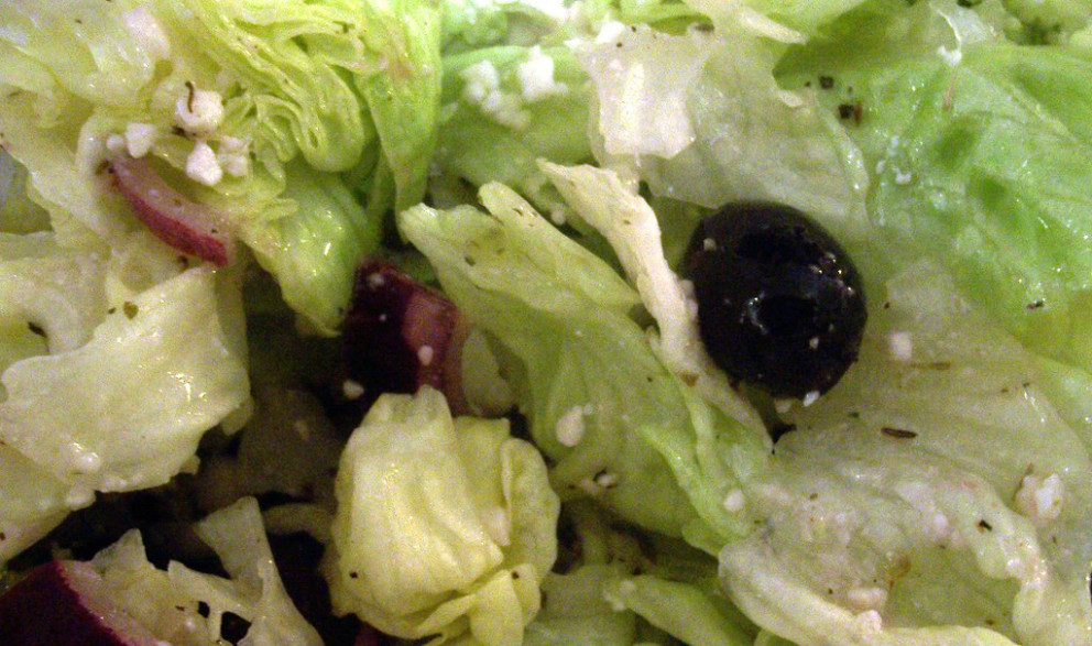 Pizza Parlor Salad - recipes dinner for one
