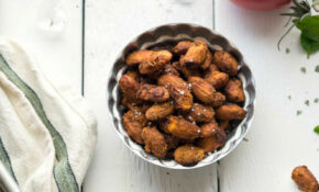 Pizza Roasted Almonds – Easy Healthy Vegetarian Recipes