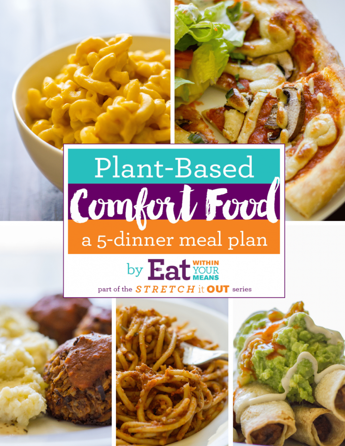 Plant Based Comfort Food: A 12 Dinner Meal Plan | Pass The Plants - Plant Based Recipes Dinner