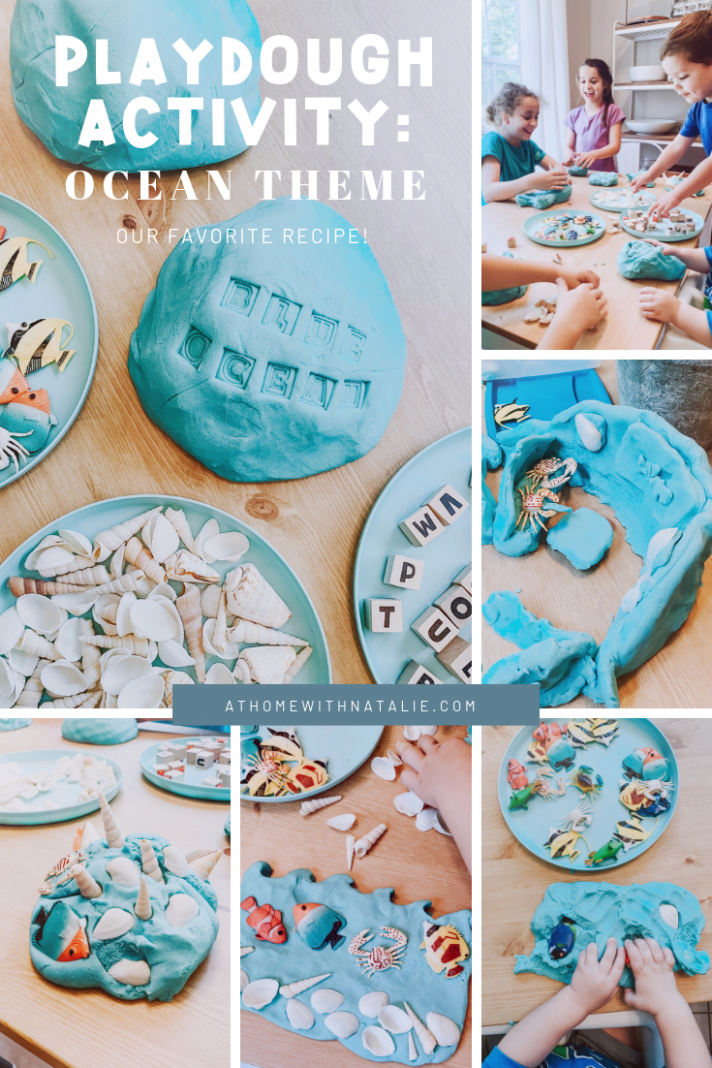 Playdough Activity: Ocean Theme – At Home With Natalie - ocean themed food recipes