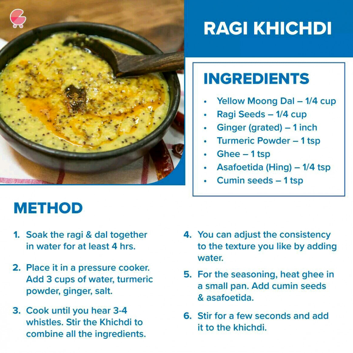 plz suggest some raggi receipes for my one year old baby - 1 year old baby food recipes