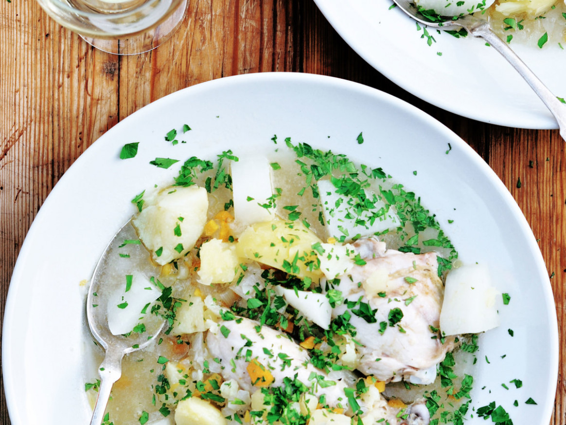 Poached Chicken Soup - Recipes Poached Chicken