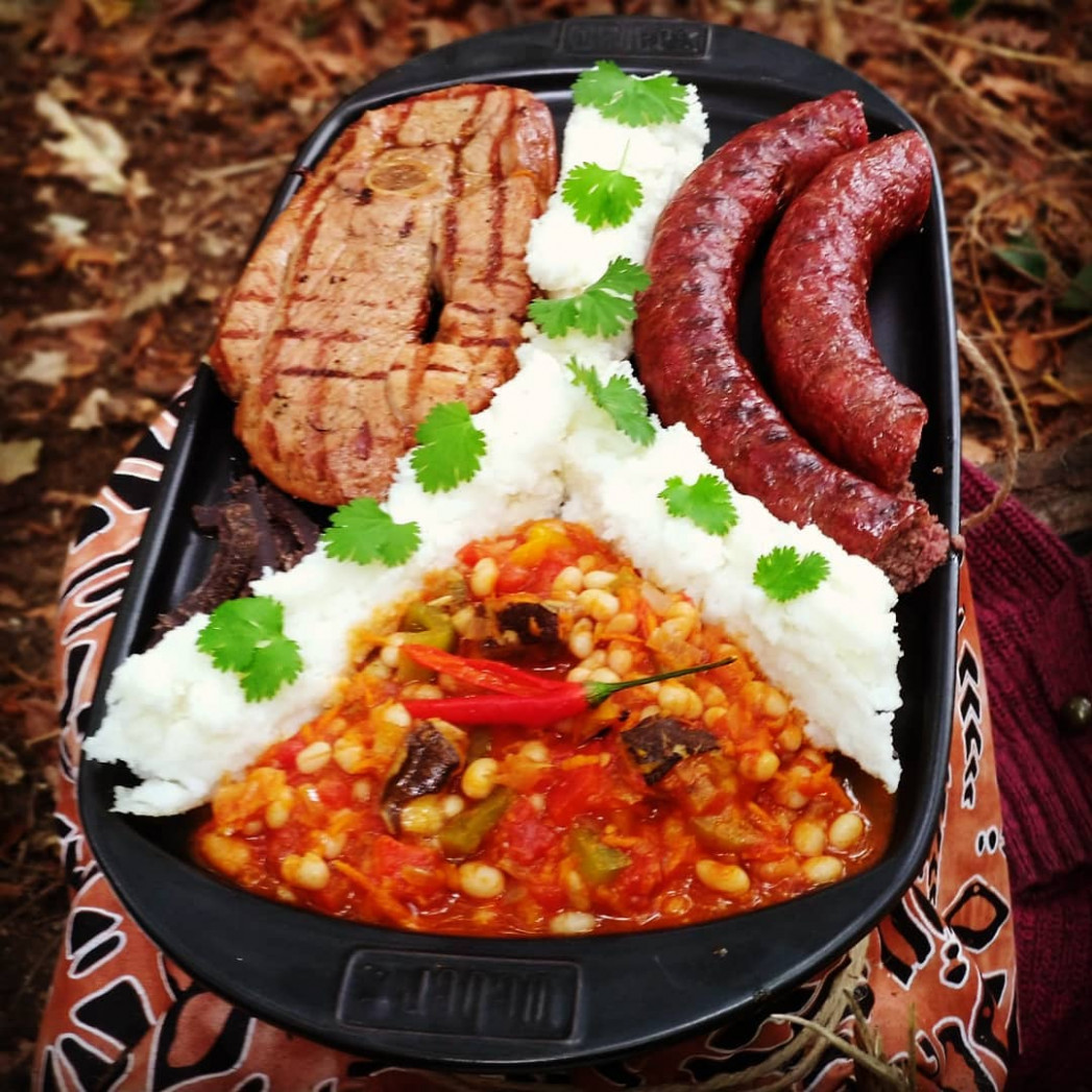 Popular traditional black South African recipes and South ..