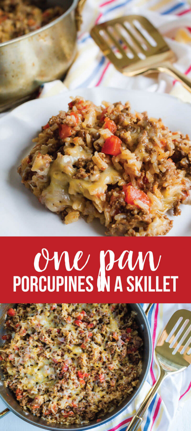 Porcupines in a Skillet - recipes dinner ideas