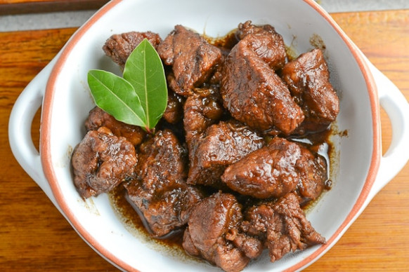 Pork Adobo (Filipino Style) Recipe - Salu Salo Recipes - filipino food recipes with pictures and procedures