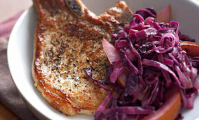Pork Chops With Red Cabbage And Pears Recipe – EatingWell – Healthy Red Cabbage Recipes