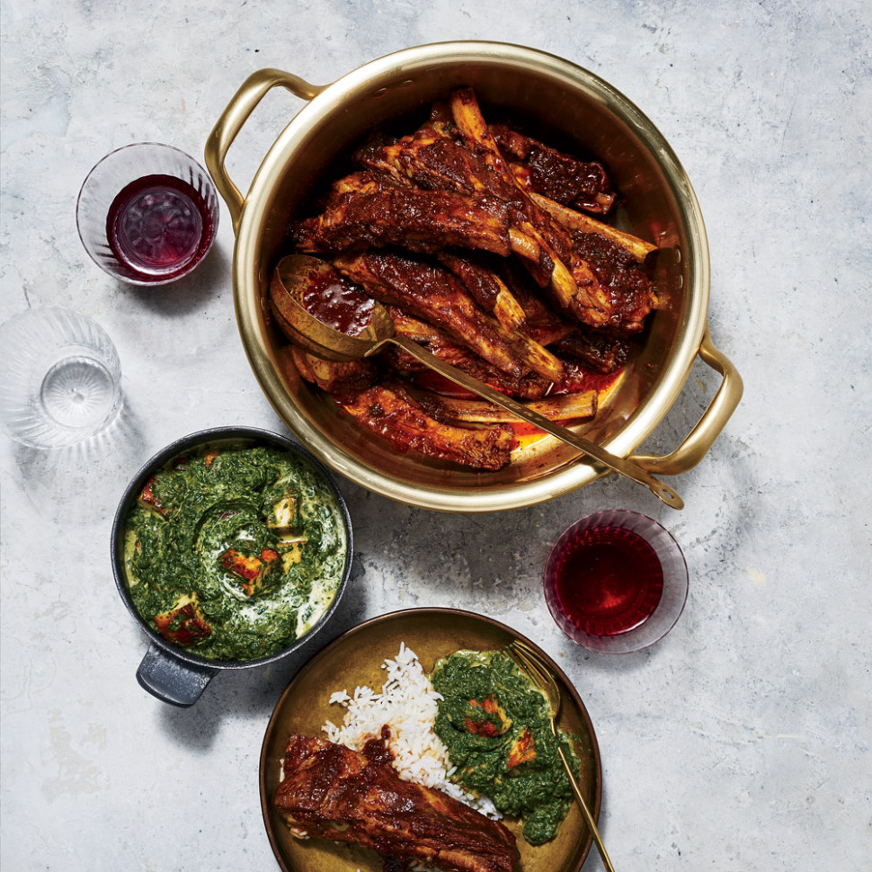 Pork Ribs Vindaloo