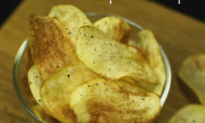 Potato Chips Or Potato Wafers Recipe(y) Hebbars Kitchen ..