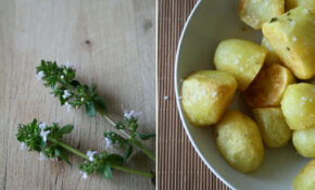 Potatoes With Thyme Flowers – Potato Recipes Dinner