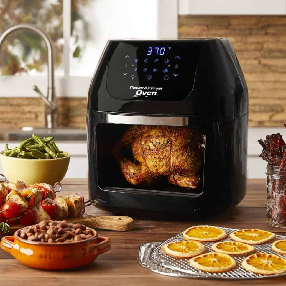 Power AirFryer Oven Review & Giveaway - Steamy Kitchen - air fryer xl recipes chicken wings