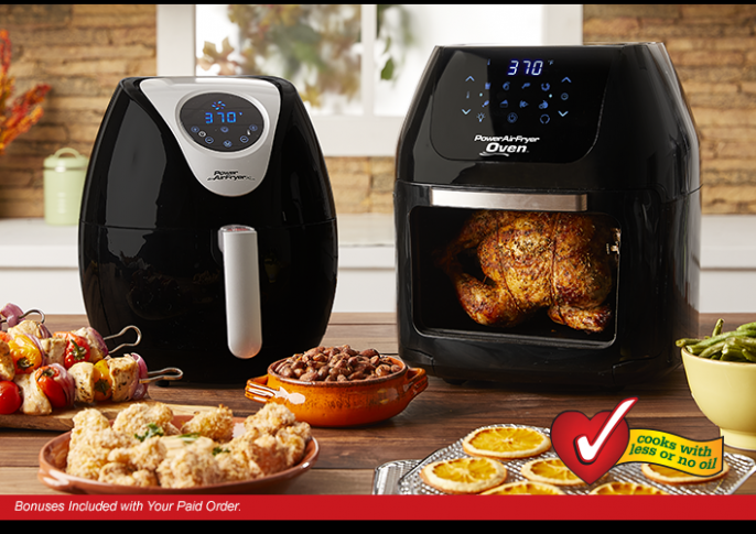 Power AirFryer Oven, The healthy way to fry food | Power ..