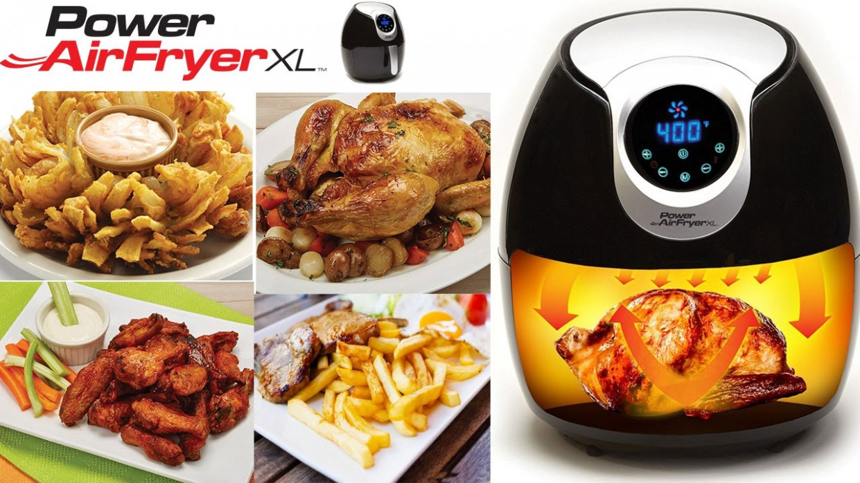 Power Airfryer XL Recipes Fish and Chips and Reviews Step by Step - power air fryer xl recipes chicken