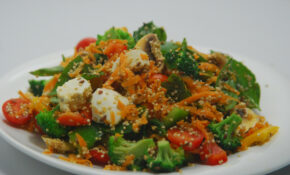 Power Packed Salad Vegetarian Recipe | KhaanaKhazana | By ..