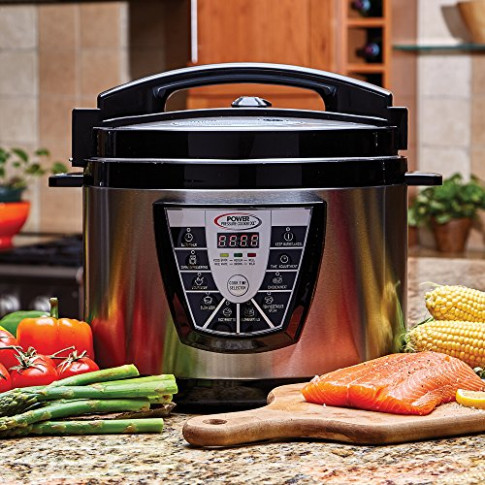 Power Pressure Cooker XL 10 Qt with Power Pressure Cooking ..