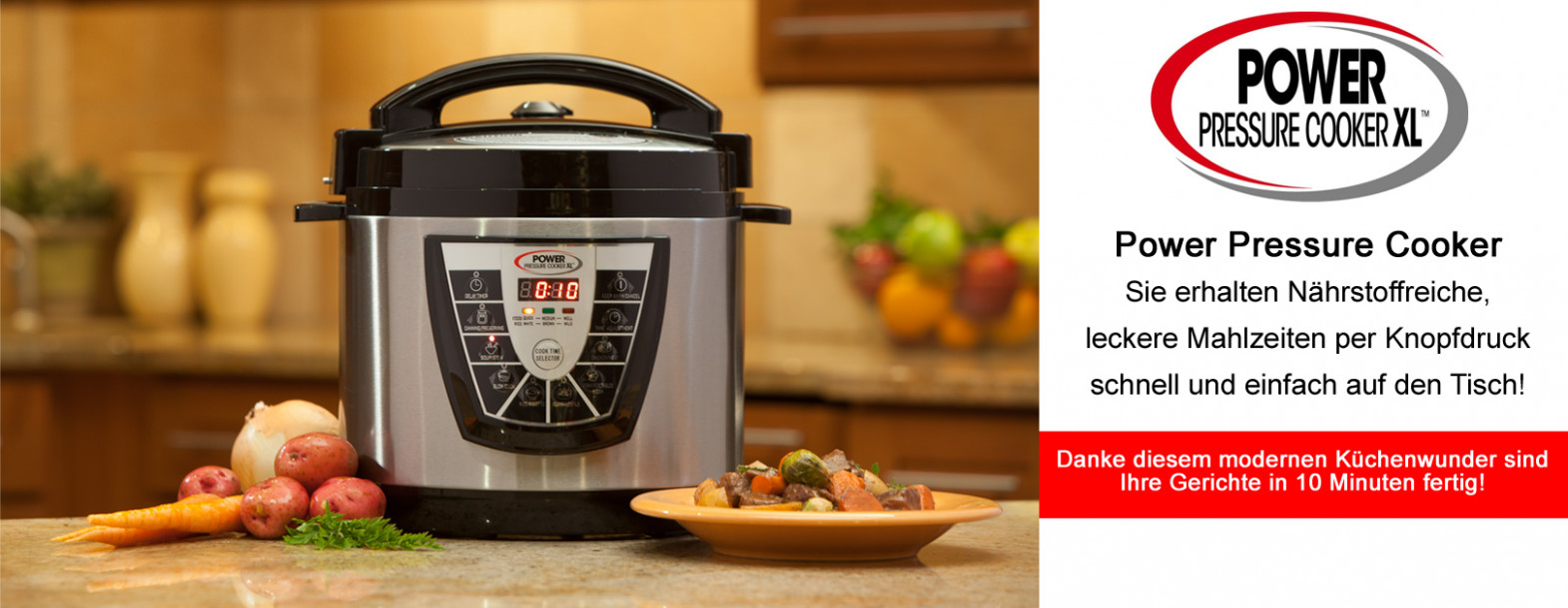 Power Pressure Cooker XL 13,13 Liter | NIKKO TV - Power Pressure Cooker Xl Chicken Recipes