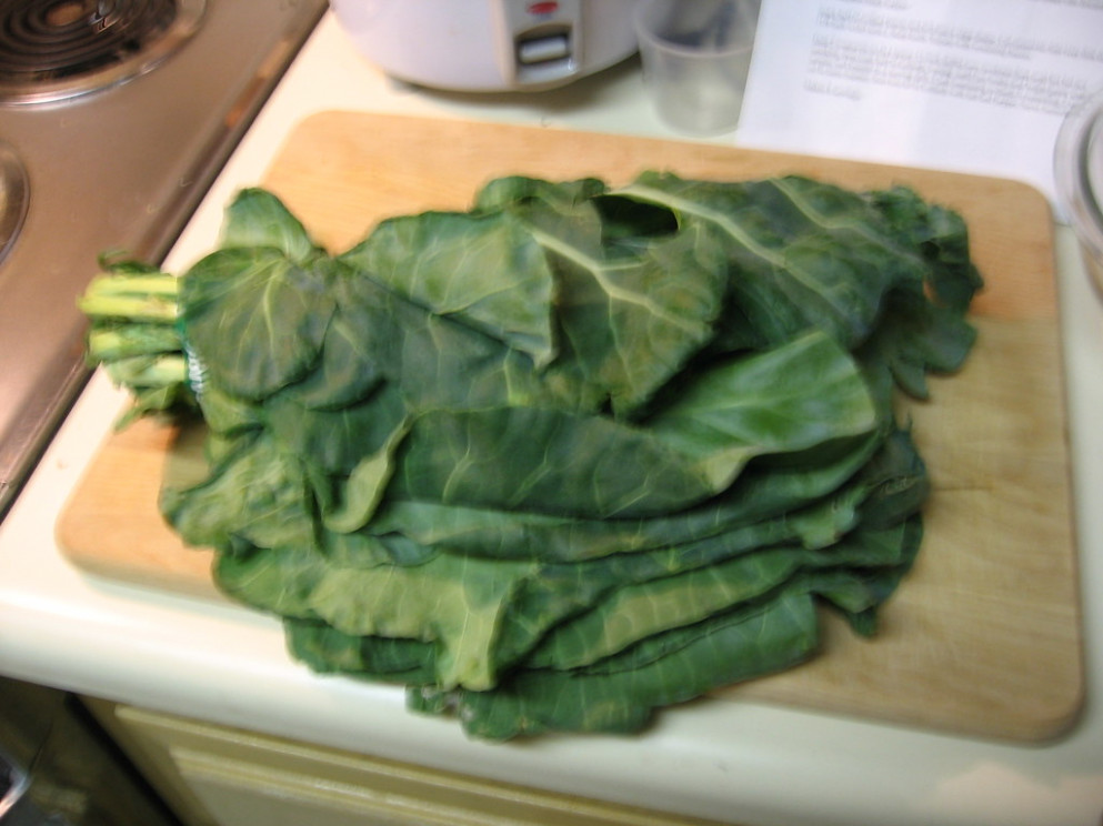 Preparing collard greens - recipes collard greens vegetarian