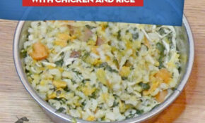 Pressure Cooker Homemade Dog Food With Chicken And Rice Recipe – Dog Food Recipes With Chicken