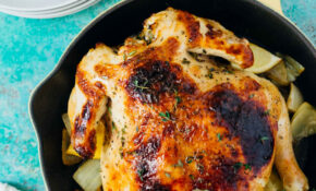 Pressure Cooker Honey Butter And Herb Roasted Chicken ..