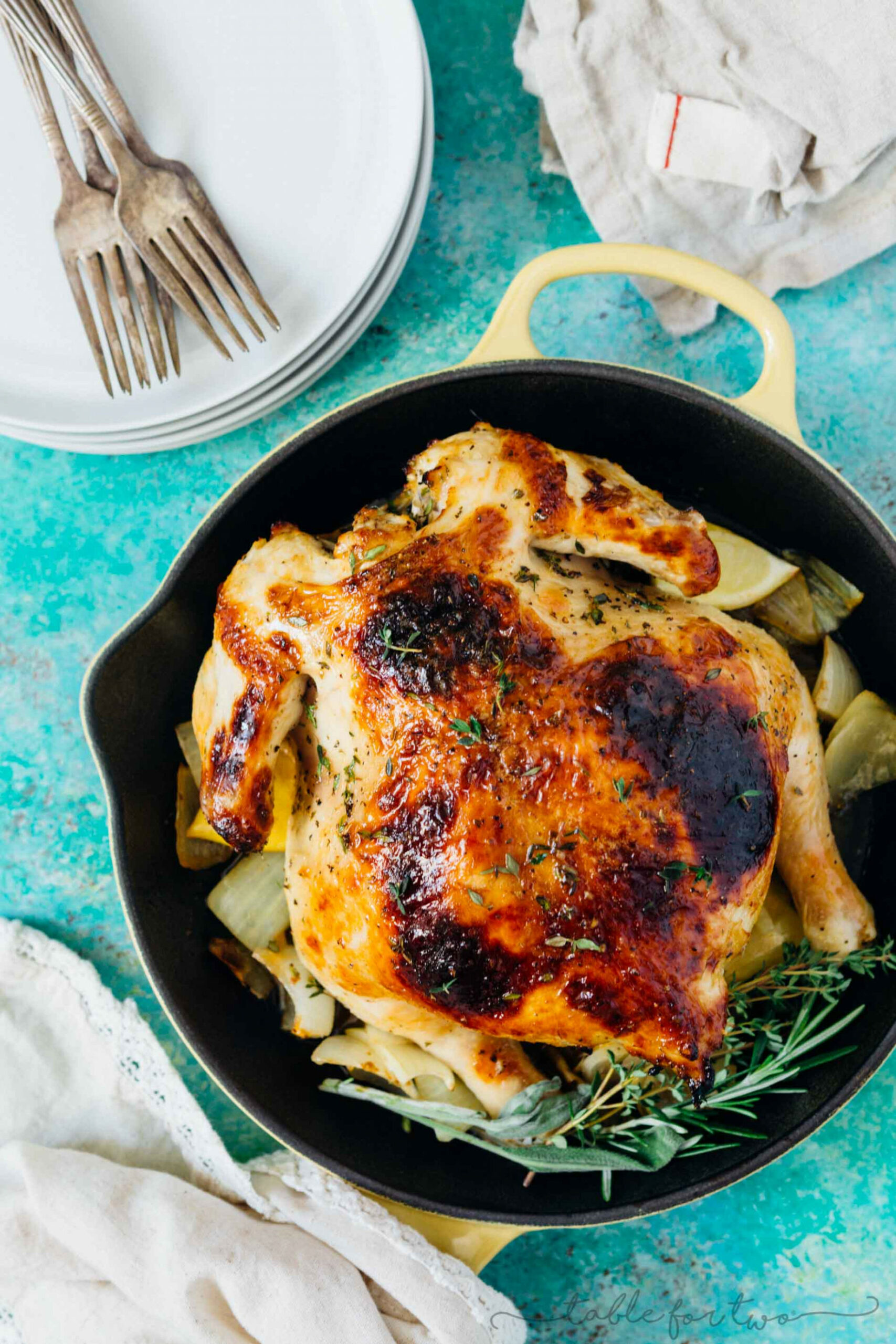 Pressure Cooker Honey Butter And Herb Roasted Chicken - Recipes Pressure Cooker Chicken
