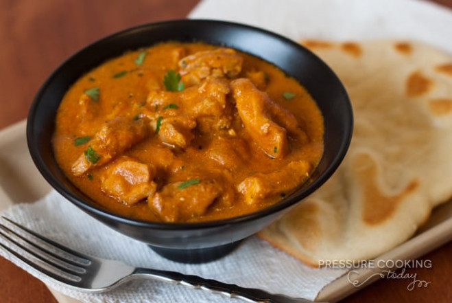 Pressure Cooker Indian Butter Chicken Recipe from Pressure ..