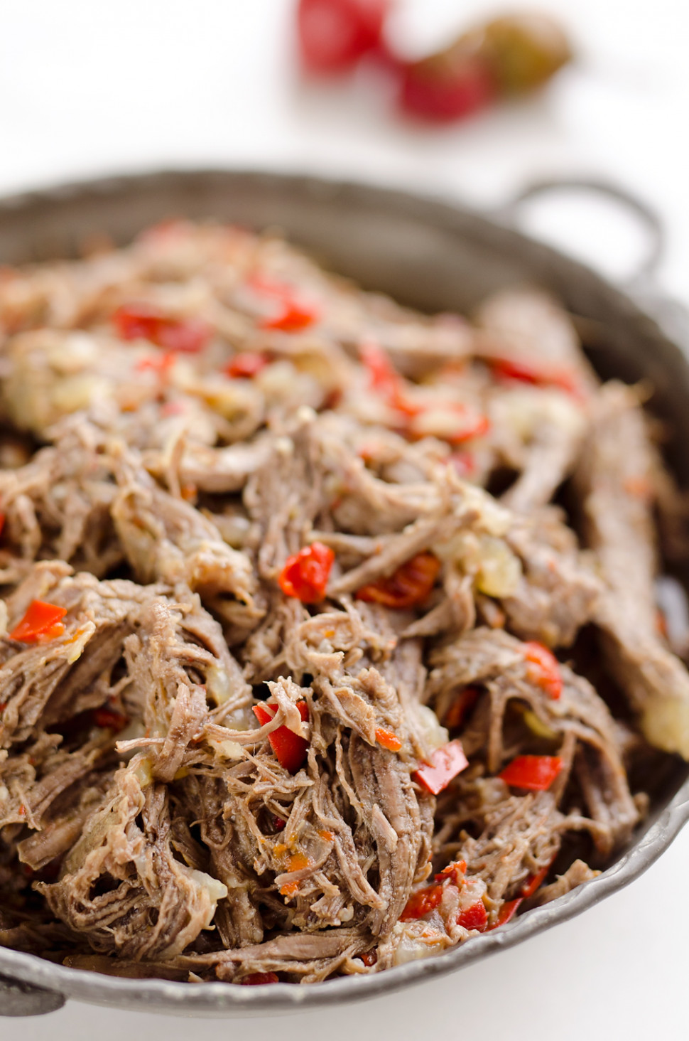 Pressure Cooker Shredded Italian Beef - Instant Pot Meal - healthy recipes in pressure cooker