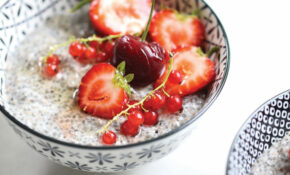 Probiotic Chia Pudding With Summer Fruit – Healthy Recipes Dairy Free