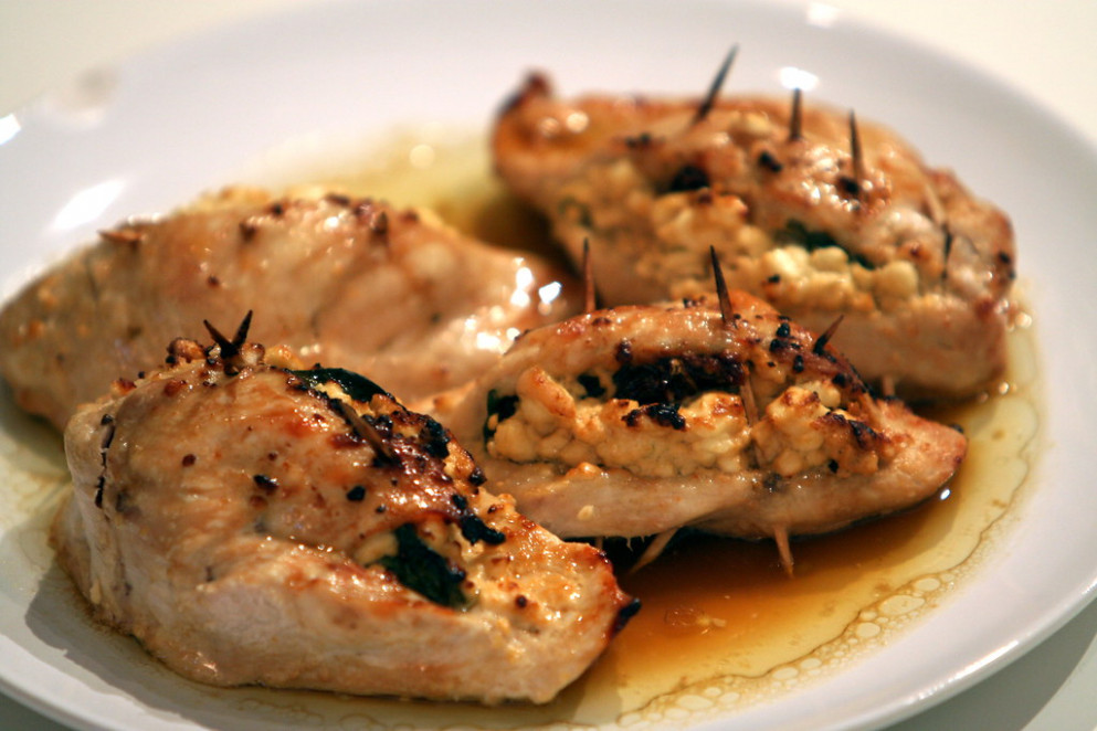 Project 365: February 4 (Stuffed chicken breast recipe) - chicken recipes uk