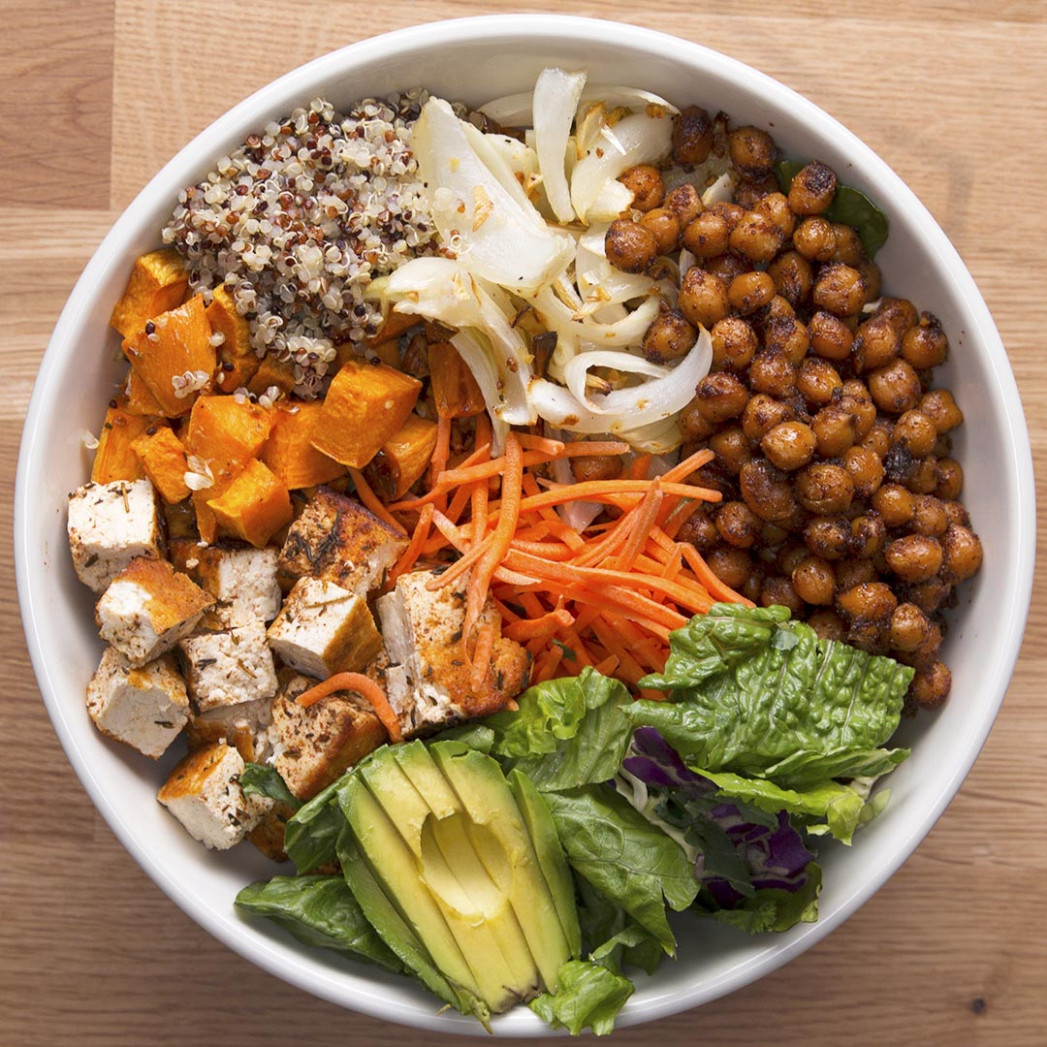 Protein Packed Buddha Bowl Recipe By Tasty - Dinner Recipes No Meat