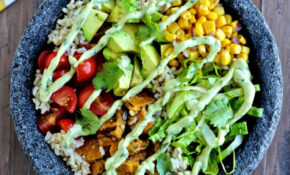 Protein Packed Vegetarian Burrito Bowls – Recipes Protein Vegetarian