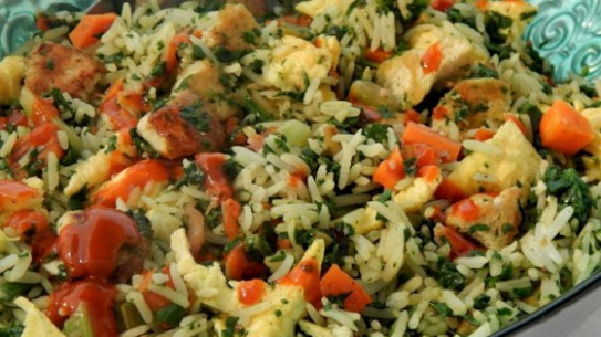 Protein-Packed Vegetarian Fried Rice Recipe - Allrecipes
