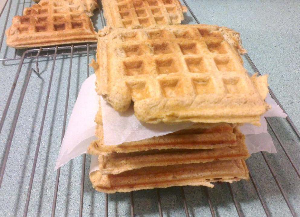 Protein Waffles - healthy recipes high protein low carb