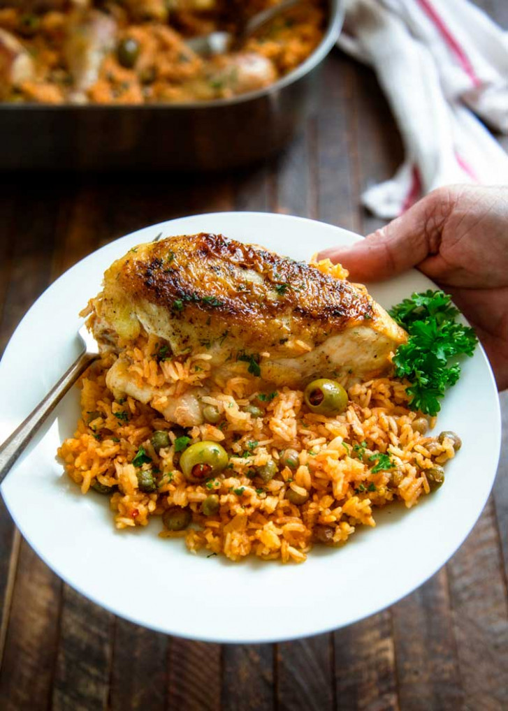 Puerto Rican Chicken And Rice - Puerto Rican Food Recipes