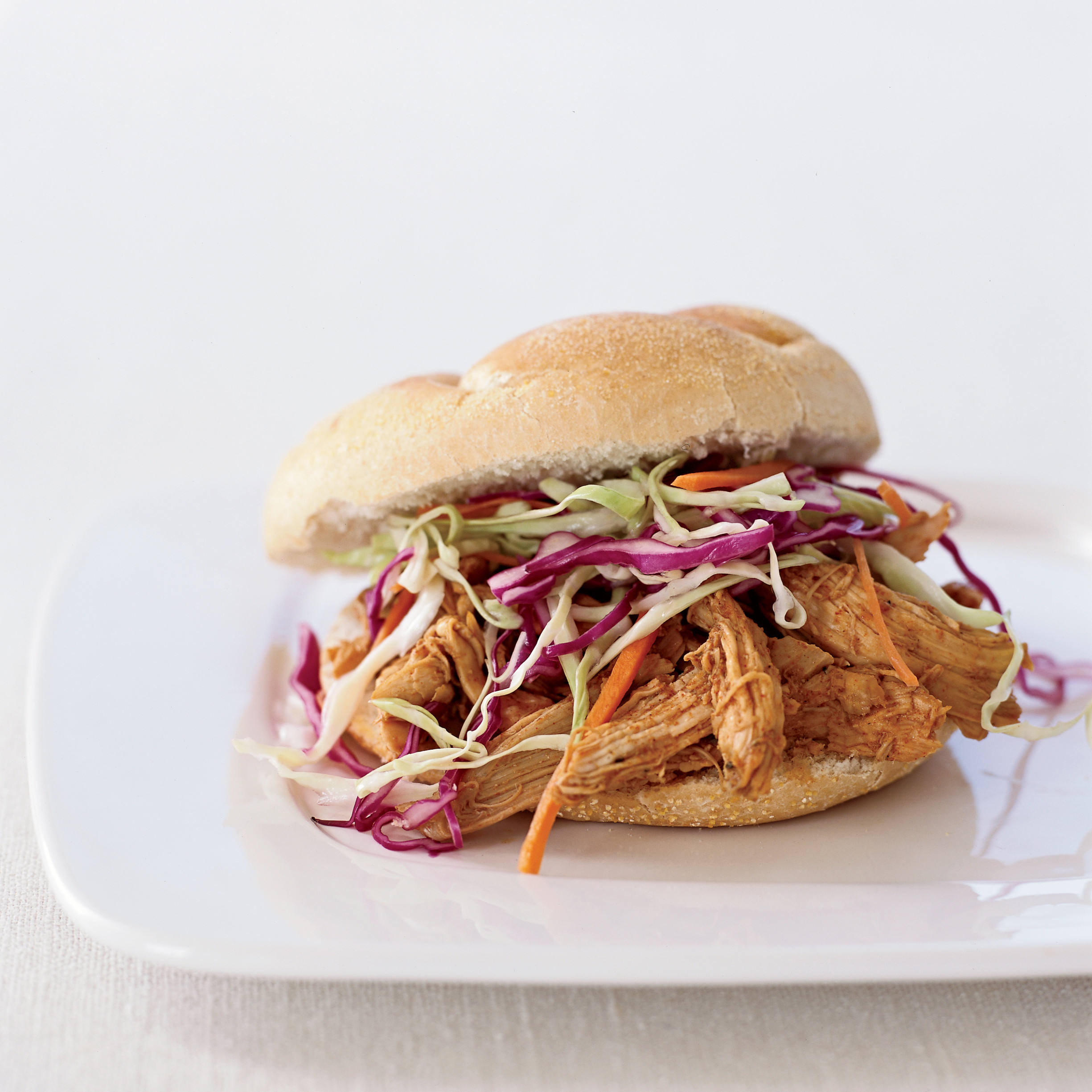 Pulled-Chicken Sandwiches Recipe - Amy Tornquist | Food & Wine - recipes pulled chicken
