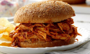 Pulled Chicken Sandwiches Recipe | Taste Of Home – Recipes Pulled Chicken