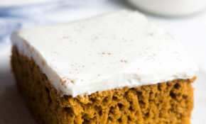Pumpkin Cake With Cream Cheese Frosting – Healthy Recipes With Xanthan Gum