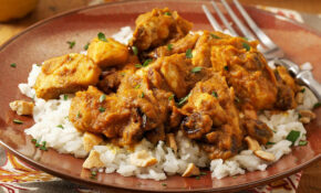 Pumpkin Curry Chicken Over Cashew Rice – Recipes With Chicken And Rice