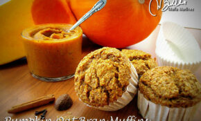 Pumpkin Oat Bran Muffins – Recipes Good Food Channel