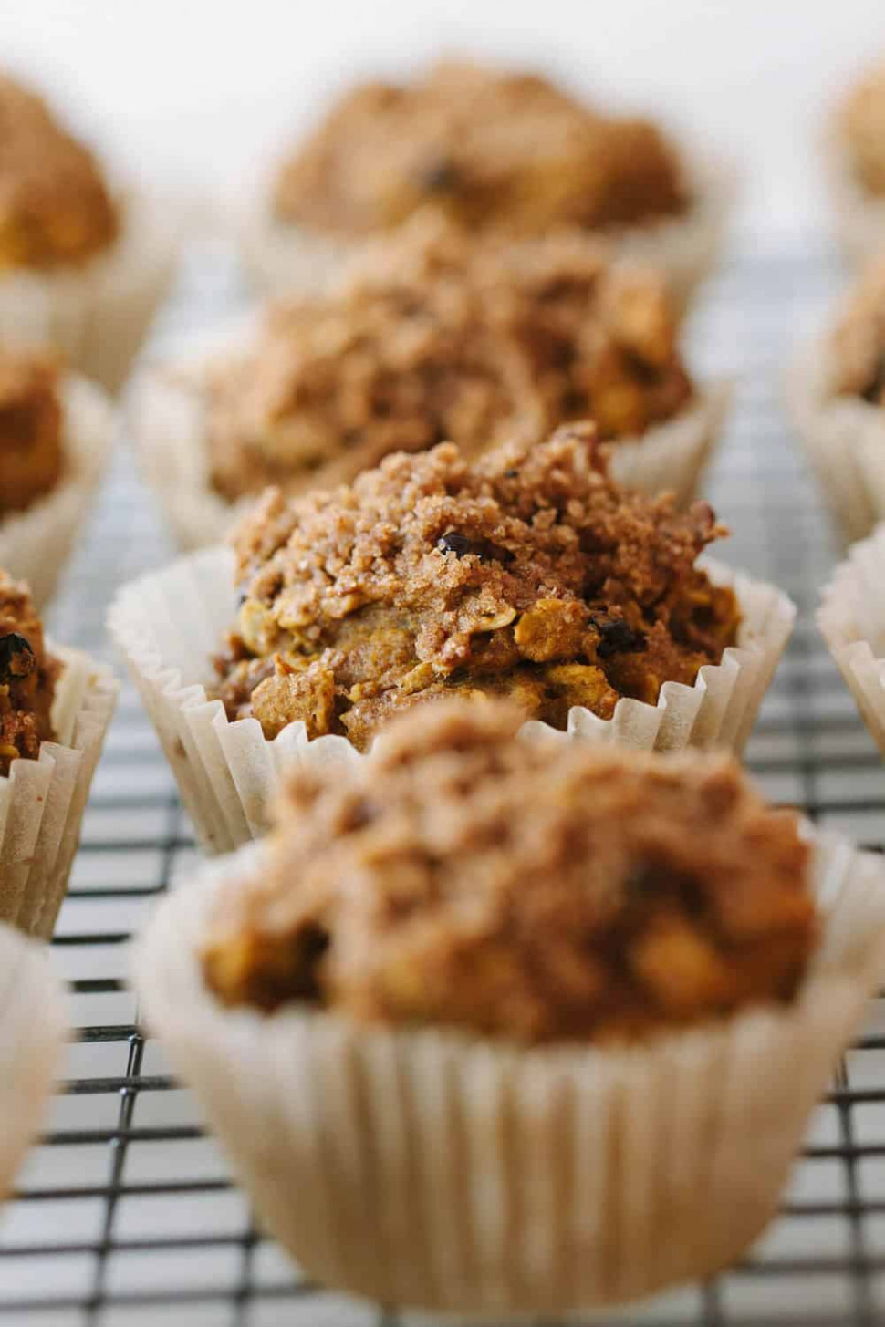 PUMPKIN OAT MUFFINS + CRUMBLE TOPPING - THE SIMPLE VEGANISTA - raw food recipes dinner