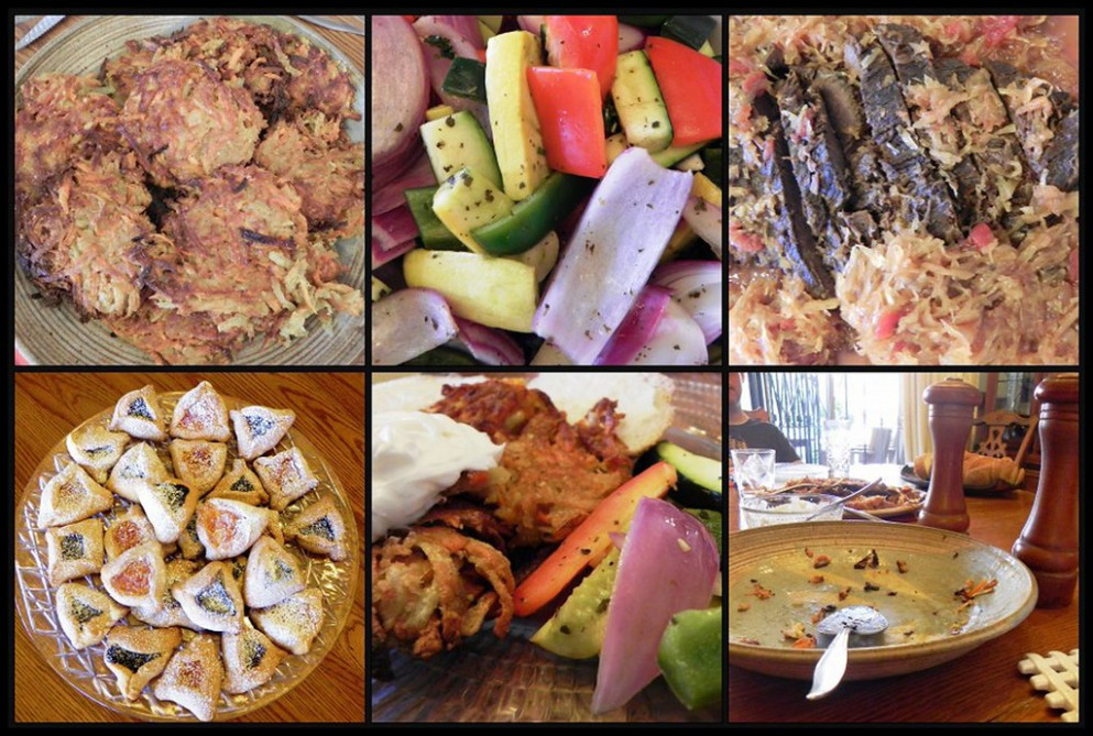 Purim Yummies Mosaic - Chicken Recipes Zucchini