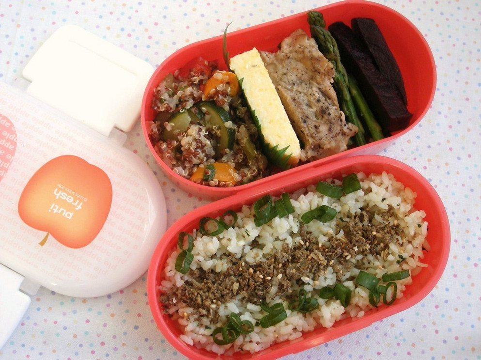 puti fresh bento - quinoa recipes chicken