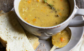 Quebec Style Yellow Split Pea Soup | Recipe | Soups, Stews ..
