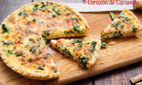 Quiché De Salmón Y Espinacas – Food Recipes Quiche