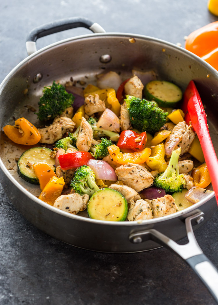 Quick 14 Minute Stir-Fry Chicken and Veggies - chicken recipes delicious