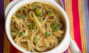 Quick & Easy Chinese Noodle Soup – Erren's Kitchen – Recipe Vegetarian Noodle Soup