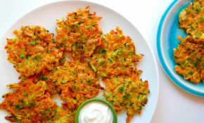Quick And Crispy Vegetable Fritters – Recipes Vegetarian Quick