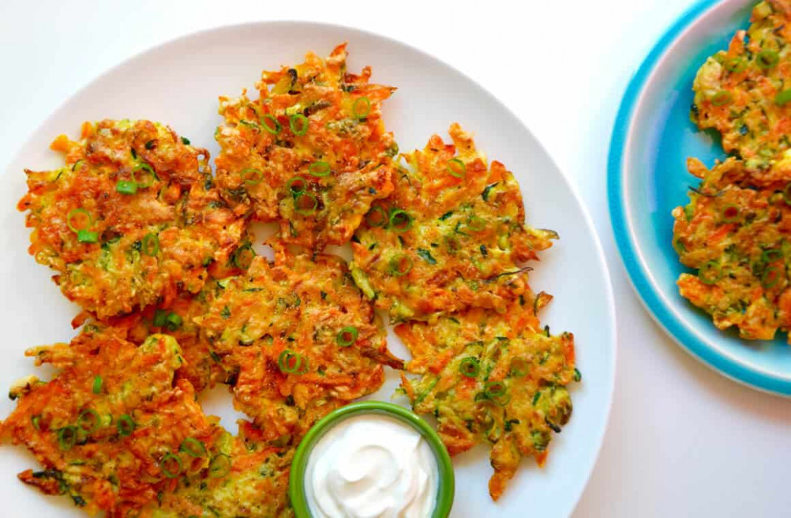 Quick and Crispy Vegetable Fritters - recipes vegetarian quick