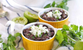 Quick And Easy Black Beans And Rice – Bowl Of Delicious – Recipes Beans And Rice Vegetarian