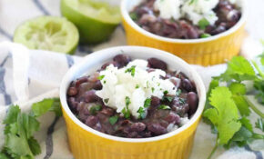 Quick And Easy Black Beans And Rice – Recipes Vegetarian Easy Quick