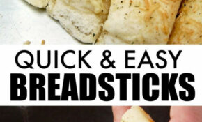 Quick And Easy Breadsticks | Recipe | Jamie Cooks It Up ..